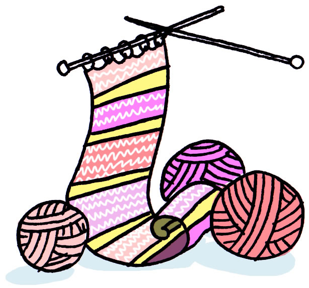 Knitting Cartoons Pictures : Free set of cartoon images for fundraising ideas by maria